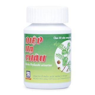 Thuốc trị các chứng viêm nhiễm Diệp Hạ Châu (60 viên/ chai)
