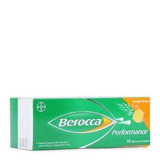 Viên sủi bổ sung Vitamin Berocca Performance (10 viên/tuýp)