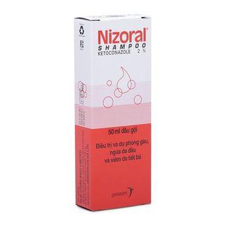 Dầu gội trị gàu, ngứa da đầu, viêm da tiết bã Nizoral 50ml