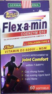Flex-a-min Coenzym Q10 hỗ trợ tốt cho xương khớp