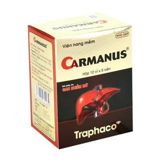 Thuốc điều trị gan nhiễm mỡ, suy gan Carmanus