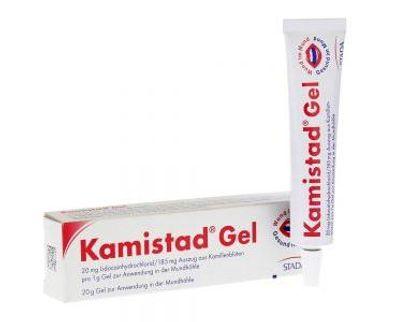 Thuốc điều trị nhiệt miệng, lở miệng, loét miệng Kamistad gel
