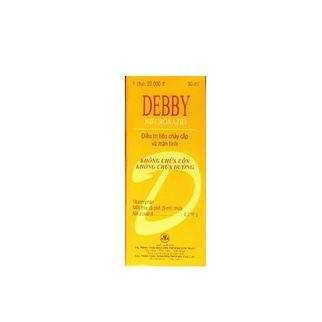Thuốc điều trị tiêu chảy cấp và mãn tính Debby (30ml)