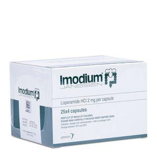 Thuốc điều trị tiêu chảy Imodium 2mg (25 vỉ x 4 viên/hộp)