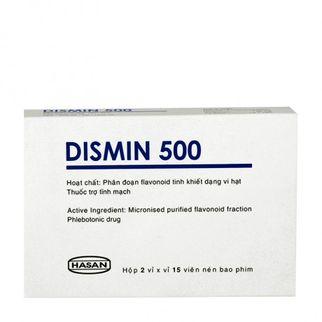 Thuốc Dismin-Trị dấu hiệu,triệu chứng suy tĩnh mạch mãn tính
