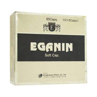 Thuốc hỗ trợ tăng cường chức năng gan Eganin (1 vỉ x 5 viên)