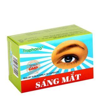 Thuốc sáng mắt Traphaco (10 vỉ x 10 viên/ hộp)