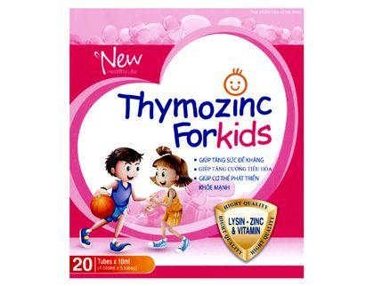 Thymozinc for kids dạng ống hỗ trợ tăng cường sức đề kháng