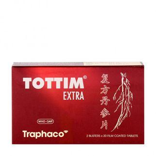Tottim Extra- Trị, phòng ngừa đau thắt ngực,xơ vữa động mạch