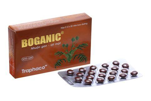 Boganic Traphaco - Bổ gan, giải độc viên bao đường hộp 2 vỉ