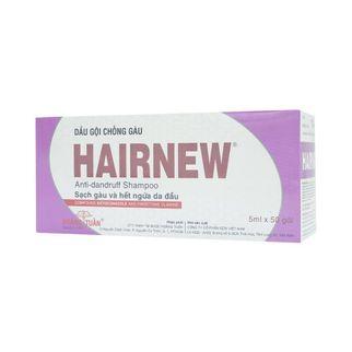 Dầu gội chống gàu hiệu quả Hairnew gói 5ml