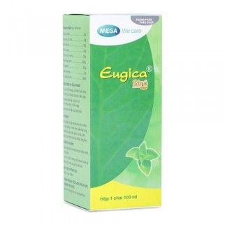 Thuốc Eugica Siro điều trị viêm phế quản 100ml