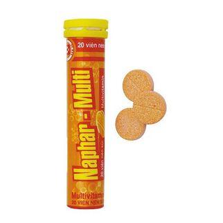 Viên nén sủi Naphar- Multi bổ sung và cung cấp Vitamin