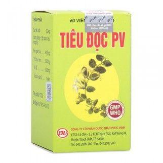 Viên uống Tiêu độc PV hỗ trợ giải độc gan- Phúc Vinh