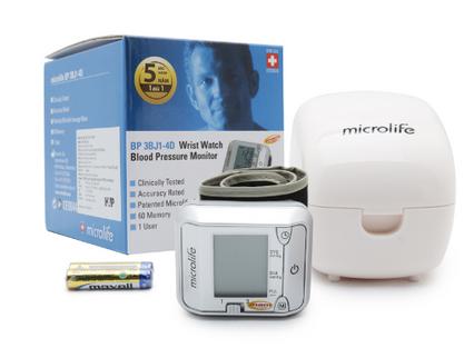 Máy đo huyết áp cổ tay Microlife 3BJ1 - 4D