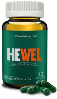 Viên uống hỗ trợ giải độc gan Hewel 30 viên của Mỹ
