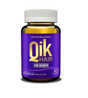 Viên uống hỗ trợ mọc tóc QIK(FOR WOMEN) chính hãng của Mỹ
