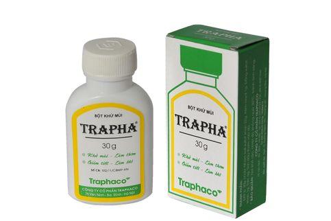 Bột khử mùi Trapha 30g
