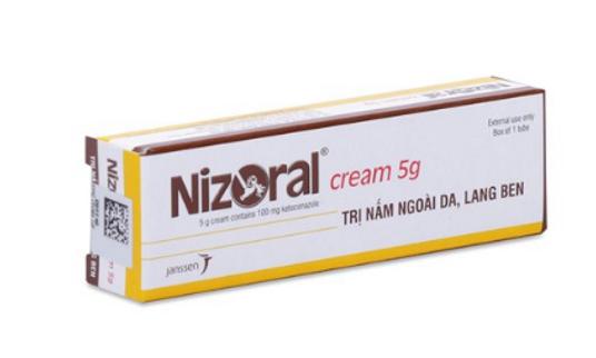 Nizoral Janssen - Kem trị nấm ngoài da, lang ben