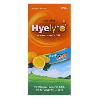 Nước uống bù nước và điện giải Hyelyte 250ml