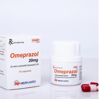 Omeprazol 20mg Mediplantex nội lọ 14 viên