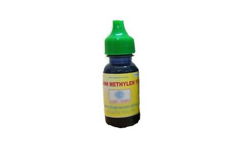 Xanh methylen 1% - dung dịch bôi thủy đậu