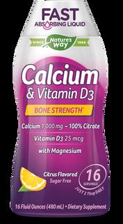 Calcium & Vitamin D Liquid Nature's Way Dạng Nước