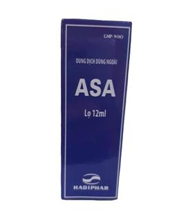 Dung dịch dùng ngoài ASA Hadiphar lọ 12ml