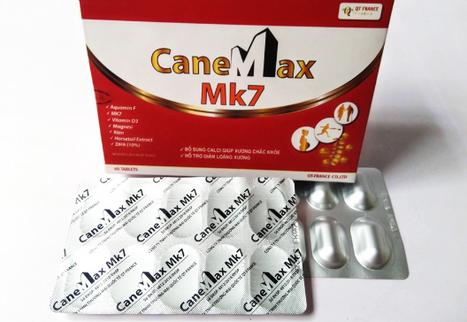 Viên CaneMax Mk7 QT France hỗ trợ bổ sung canxi vỉ 10 viên