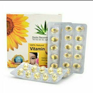Viên uống Vitamin E 400 vỉ 10 viên