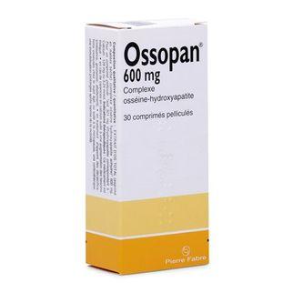 Thuốc Ossopan 600mg bổ sung canxi, hỗ trợ điều trị loãng xương