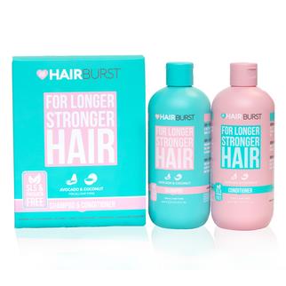 Bộ dầu gội dầu xả HairBurst For Longer Stronger Hair 350ml