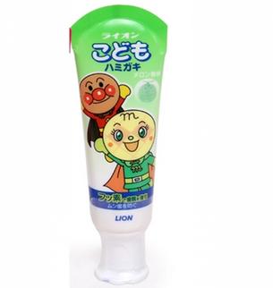 Kem đánh răng Lion hương trái cây cho bé của Nhật