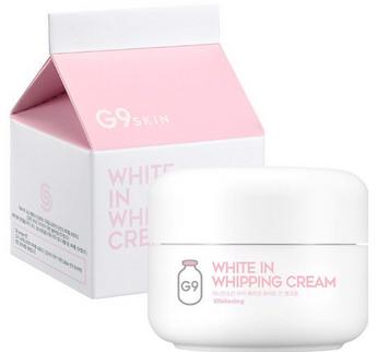 Kem dưỡng trắng da G9 White In Whipping Cream 50g Hàn Quốc