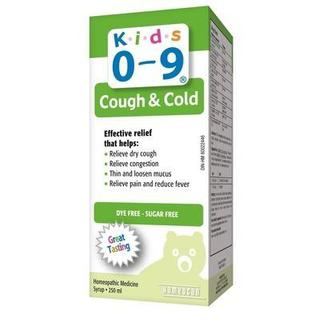 Siro ho cảm lạnh Cough & Cold Syrup for Kids 0 - 9y