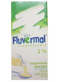 Siro tẩy giun Fluvermal 30ml của Pháp