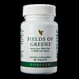 Viên rau xanh Forever Fields of Green bổ sung chất xơ