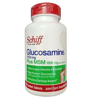 Schiff Glucosamine Plus MSM 1500mg chính hãng của Mỹ