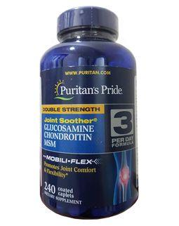 Viên uống Glucosamine MSM Puritan's Pride Của Mỹ
