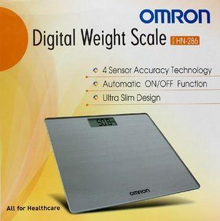 Cân sức khỏe điện tử Omron HN-286 cao cấp Nhật Bản