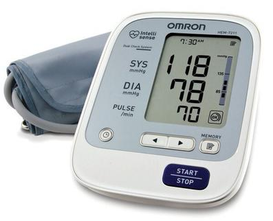 Máy đo huyết áp bắp tay tự động Omron HEM-7211 cao cấp