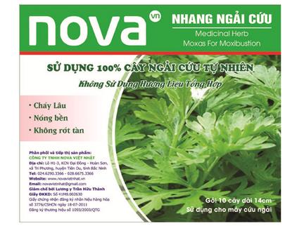 Nhang ngải cứu Nova 100% ngải cứu tự nhiên
