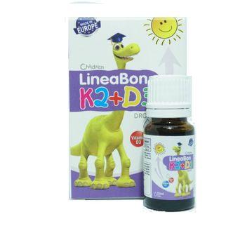 Siro tăng chiều cao Lineabon K2+D3 cho bé