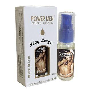 Gel bôi trơn kéo dài thời gian Power Men Play Longer cho nam