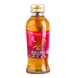 Nước hồng sâm có củ KGS Hàn Quốc cao cấp hộp 10 chai