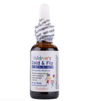 Siro Cho Bé Cold & Flu Chính Hãng Của Mỹ 30ml
