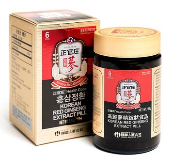 Viên tinh chất hồng sâm KGC 168g chính hãng của Hàn