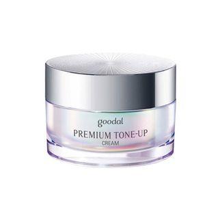 Kem ốc sên dưỡng trắng da Goodal Premium Snail Tone Up Cream