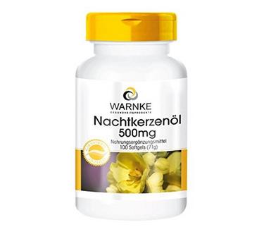 Tinh dầu hoa anh thảo Warnke Nachtkerzenol 500mg của Đức
