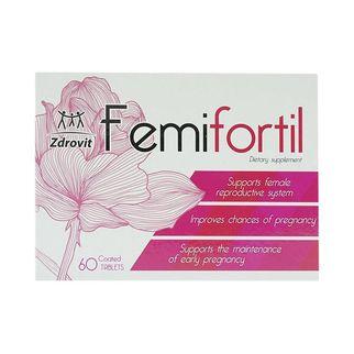 [Tặng que LH] Femifortil - hỗ trợ trứng khỏe, tăng khả năng thụ thai